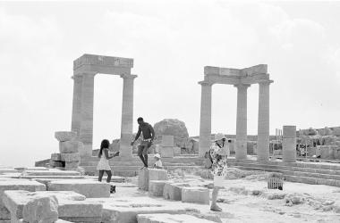 לינוס (יוון), הדפסת כסף עם גיוון סלניום