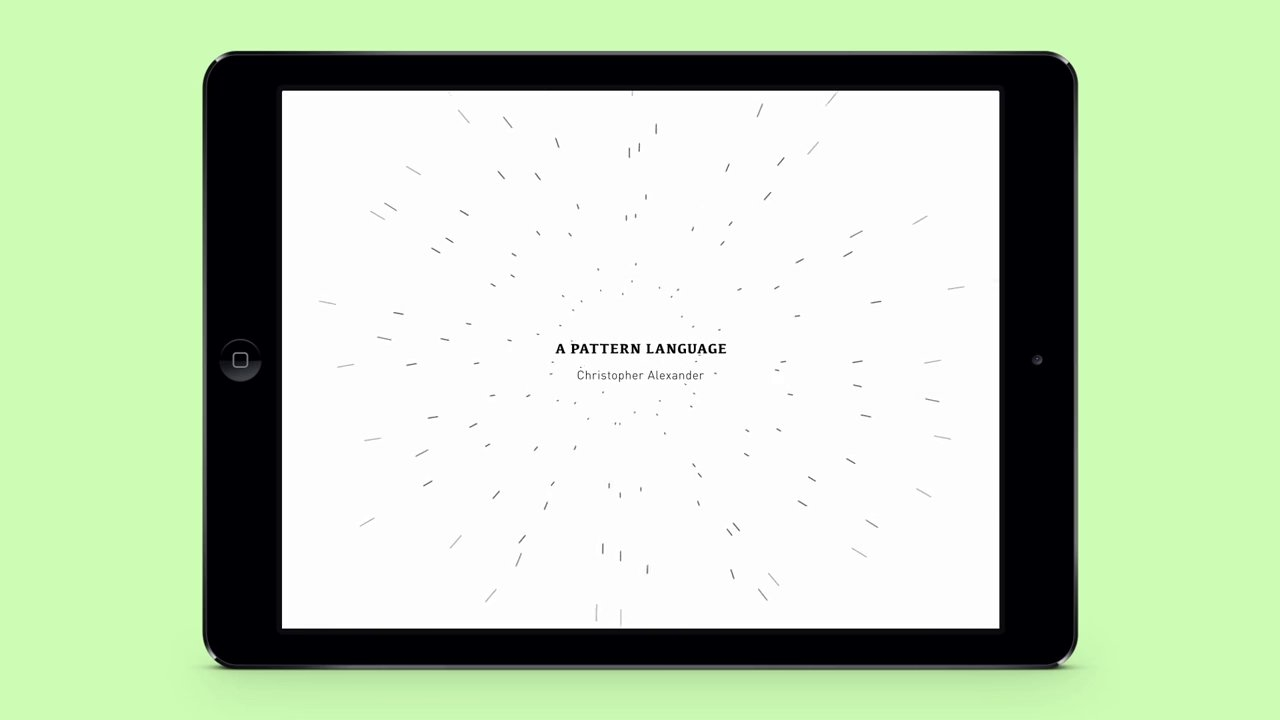 A Pattern Language | Digital Book